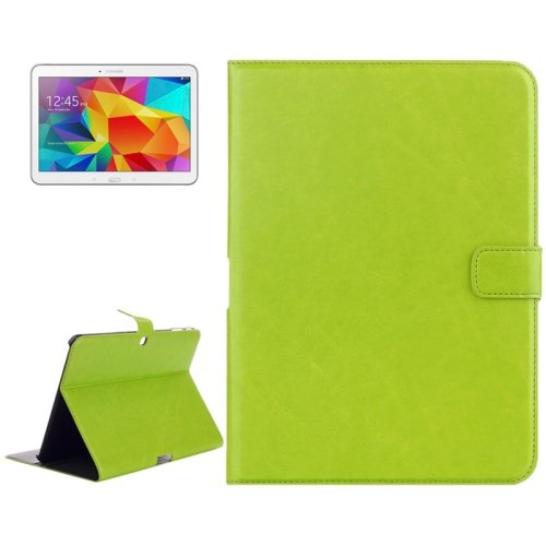 For Galaxy Tab 4 / 10.1 Crazy Horse Texture Leather Case with Holder - # Colors