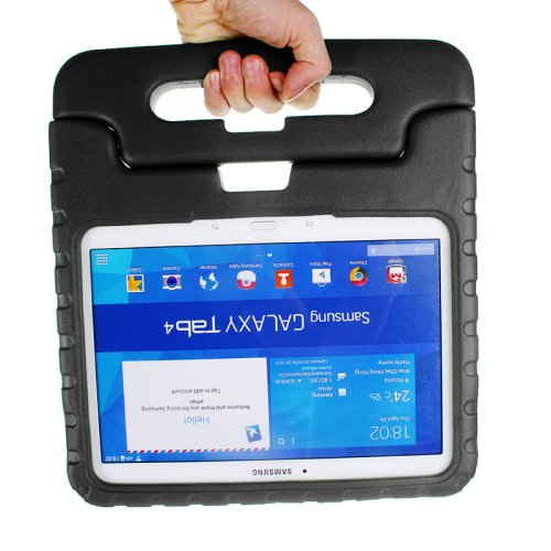 For Galaxy Tab 4 / 10.1 EVA Rugged Foam Case with Handle and Holder - # Colors
