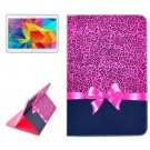 For Galaxy Tab 4 / 10.1 Leopard Pattern Horizontal Flip Leather Case with Holder