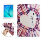 For Galaxy Tab 4 / 10.1 Smile Pattern TPU Protective Case