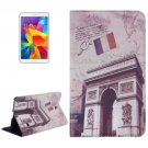 For Galaxy Tab 4 / 8.0 Caesar's Door Pattern Leather Case with Holder