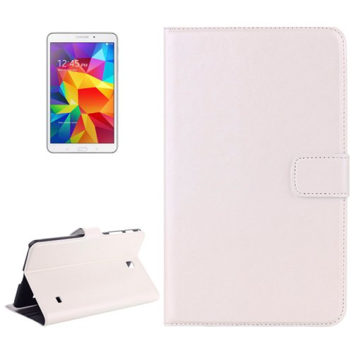 For Galaxy Tab 4 / 8.0 Crazy Horse Texture Leather Case with Card Slots & Holder - # Colors