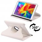 For Galaxy Tab 4 / 8.0 Litchi Leather Case with 2-angle Rotating Holder - # Colors