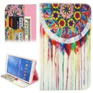 For Galaxy Tab 4 / 8.0 Ethnic Pattern Leather Case with Holder, Card Slots & Wallet