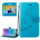For Galaxy J5 (2016) Crazy Horse Leather Case with Holder, Card Slots & Wallet - # Colors