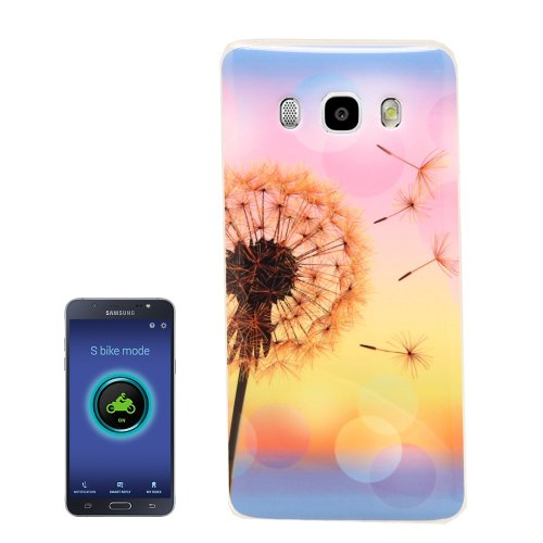 For Galaxy J5 (2016) Dandelion Pattern Soft TPU Protective Case Back Cover