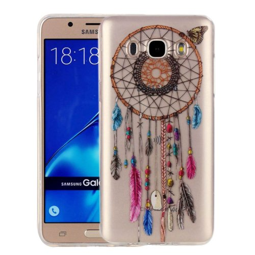For Galaxy J7 (2016) Colour Bell Pattern IMD Workmanship Soft TPU Protective Case