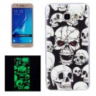 For Galaxy J7 (2016) Noctilucent Ghost Pattern IMD Workmanship Soft TPU Back Cover Case
