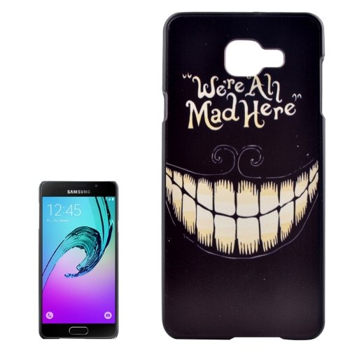 For Galaxy A3(2016) Teeth Pattern PC Protective Case