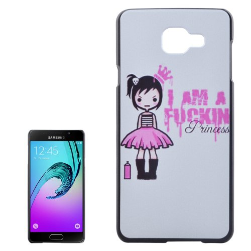 For Galaxy A3(2016) Fucking Princess Pattern PC Protective Case