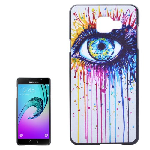 For Galaxy A3(2016) Eye Pattern PC Protective Case