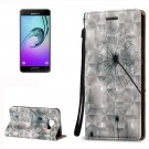 For Galaxy A3(2016) Relief Dandelion Pattern Flip Leather Case with Holder, Card Slots & Lanyard