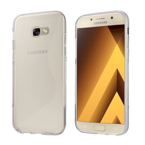 For Galaxy A3(2017) Frosted Soft TPU Protective Case - # Colors