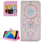 For Galaxy A7(2016) Windbell Diamond Flip Leather Case with Holder, Card Slots & Wallet