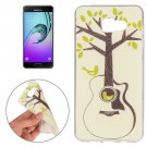 For Galaxy A7(2016) Tree and Bird Pattern TPU Protective Case