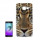 For Galaxy A7(2016) IMD Leopard Pattern Soft TPU Protective Case Back Cover