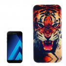 For Galaxy A7(2017) / A720 Tiger Pattern TPU Back Case