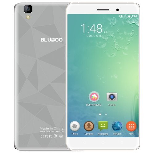 5.5 inch Android 6.0 MTK6580A Quad Core BLUBOO Maya, 2GB+16GB Phone # Colors