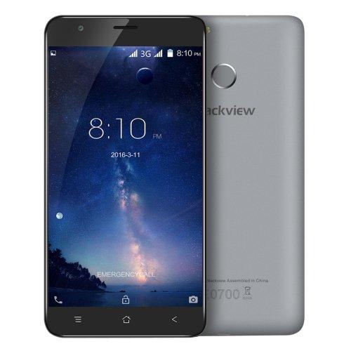 Fingerprint Identification, 5.5 inch Android 6.0 MTK6580 Quad Core Blackview E7S Phone # Colors