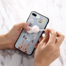 For iPhone 7 Plus Rabbit Cartoon Squeeze Relief Squishy Back Cover Case