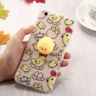 For iPhone 7 3D Cartoon Squeeze Relief Squishy Dropproof Protective Back Cover Case
