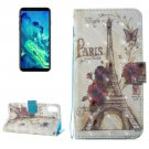 For iPhone 8 Eiffel Tower Pattern Leather Case with Holder & Card Slots & Wallet