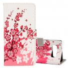 For Galaxy Note 8 Blossom Pattern Leather Case with Holder, Card Slots & Wallet