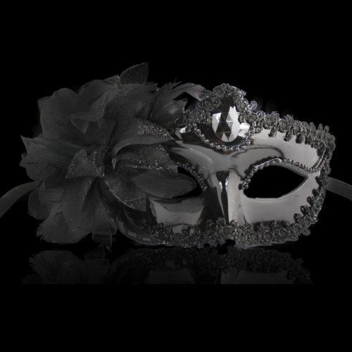 Halloween Masquerade Party Dance Plating Side Venice Princess Mask - 4 colors