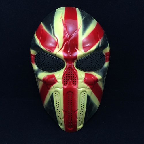 Halloween Cosplay Party Full Face Air soft Knight Skull Mask