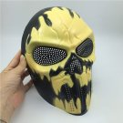 Halloween Cosplay Party Full Face Air soft Devil Fire Skull Mask