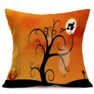 Halloween Decoration Pattern Car Sofa Pillowcase - M - Size:43 x 43 cm