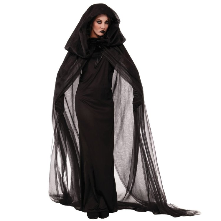 Halloween Costume Night Wandering Soul Ghost Dress Witch Dress Nightclub, size XXL