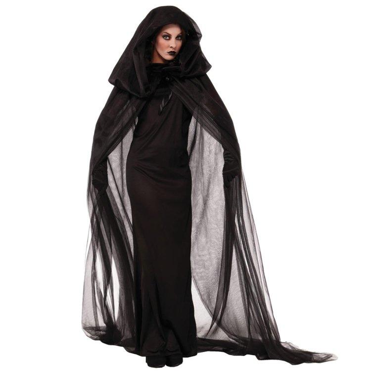 Halloween Costume Night Wandering Soul Ghost Dress Witch Dress Nightclub, size M
