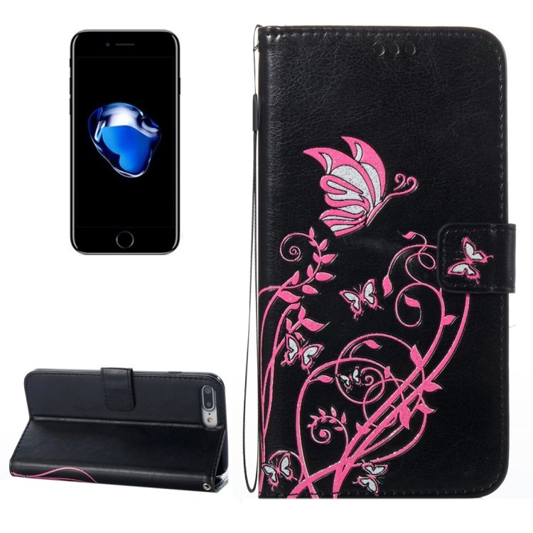For iPhone 8+&7+ Voltage Leather Case with Holder, Card Slots & Wallet - 8 colors