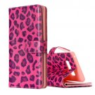 For Galaxy Note 8 Leopard Pattern Leather Case with Holder, Card Slots & Wallet