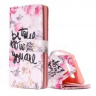 For Galaxy Note 8 Be true Pattern Leather Case with Holder, Card Slots & Wallet