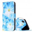 For iPhone X Orchid Flip Leather Case with Holder, Card Slots & Wallet