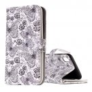 For iPhone X Butterflies Flip Leather Case with Holder, Card Slots & Wallet