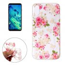 For iPhone X Roses Pattern TPU Protective Case