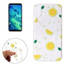 For iPhone X Navel Orange Pattern TPU Protective Case