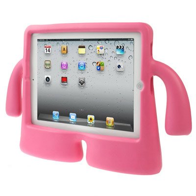 For iPad 4/3/2 Magenta Speck iGuy STYLE Free-Standing Foam Protective Case