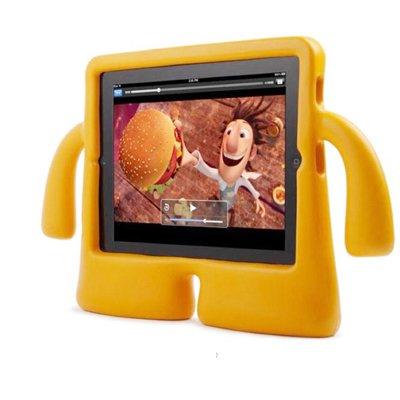 For iPad 4/3/2 Orange Speck iGuy STYLE Free-Standing Foam Protective Case