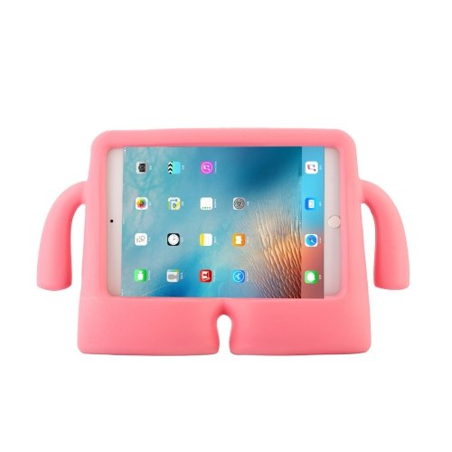 For iPad mini 4/3/2/1 Pink EVA Little Hands TV Model Shockproof Protective Cover Case