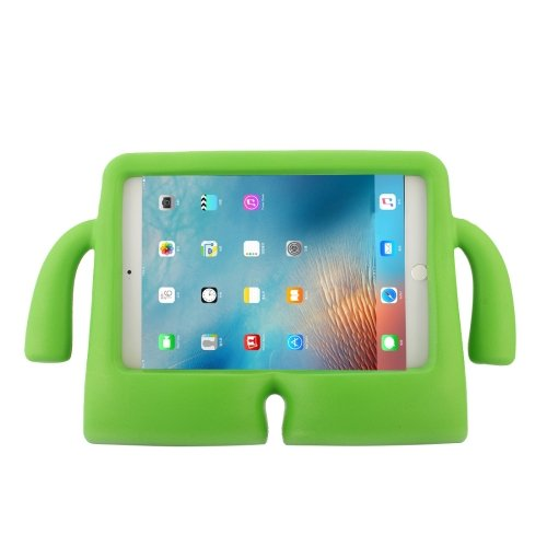 For iPad mini 4/3/2/1 Green EVA Little Hands TV Model Shockproof Protective Cover Case