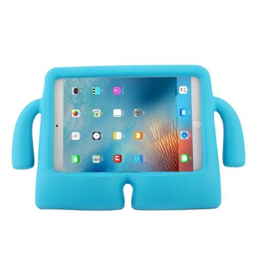 For iPad mini 4/3/2/1 Blue EVA Little Hands TV Model Shockproof Protective Cover Case