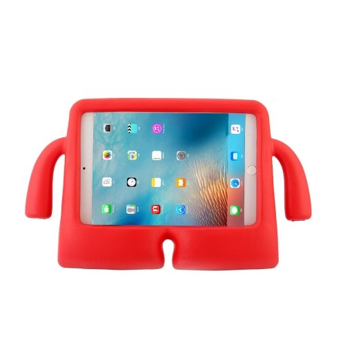 For iPad mini 4/3/2/1 Red EVA Little Hands TV Model Shockproof Protective Cover Case