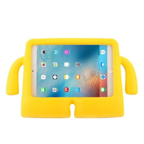 For iPad mini 4/3/2/1 Yellow EVA Little Hands TV Model Shockproof Protective Cover Case