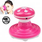 Water Wave Mini Massager USB Interface, Random Color Delivery (Size: 100 x 100 x 90mm)