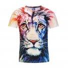 Newest Summer Unisex The Lion Unique 3D Print Tees T Shirts