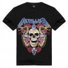 Metallica Cotton Creative Animal T-shirt Short Sleeves Top